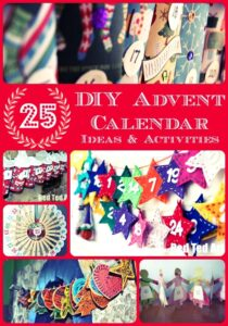 DIY Advent Calendar Ideas and Activities