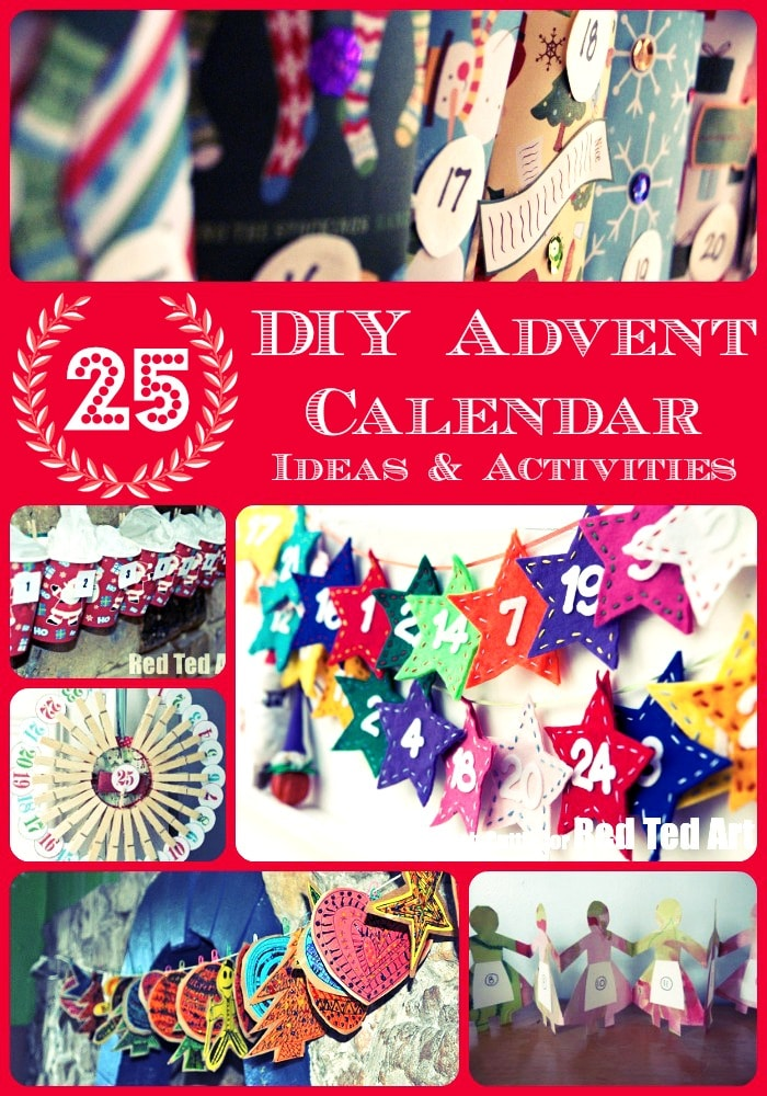 Advent Calendar Ideas and Activities - If you like making your own Advent Calendar, now is a good time to start browsing and planning, so you have plenty of time to get it down in a nice and fun (and not stressful way!!). So many great ideas here to suit all interests!