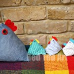 Doorstop Chicken Pattern
