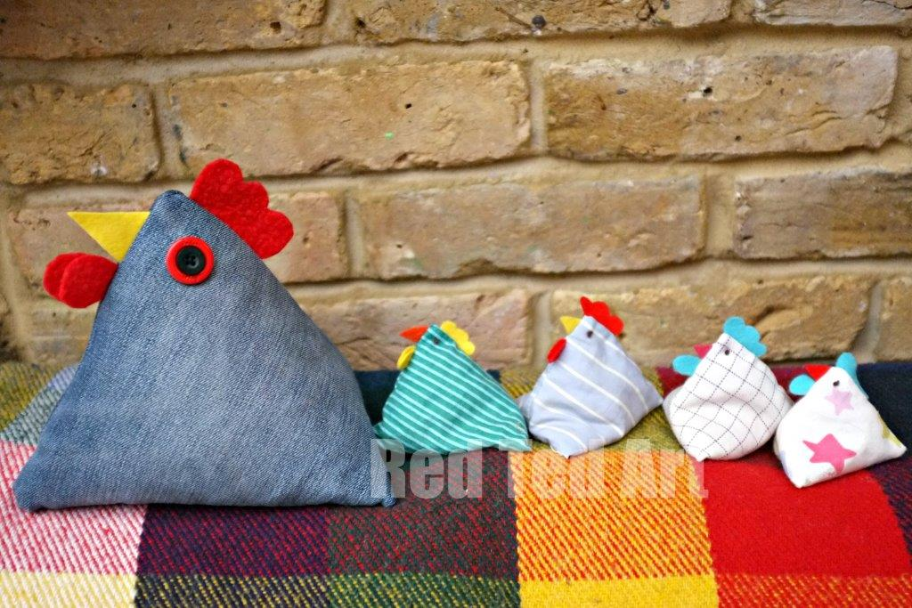 Chicken Doorstop Pattern A Great Gift Idea Red Ted Art