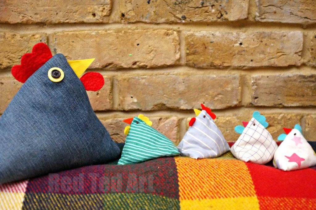 Chicken Doorstop Pattern – a Great Gift Idea
