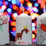 Gifts Kids Can Make: Decorated Candles