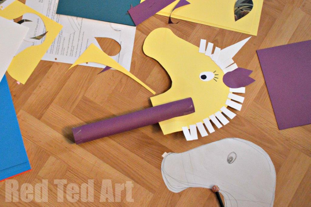 unicorn party ideas crafts red ted art 39 s blog