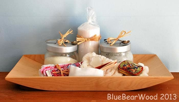 Beauty Gift Basket DIY
