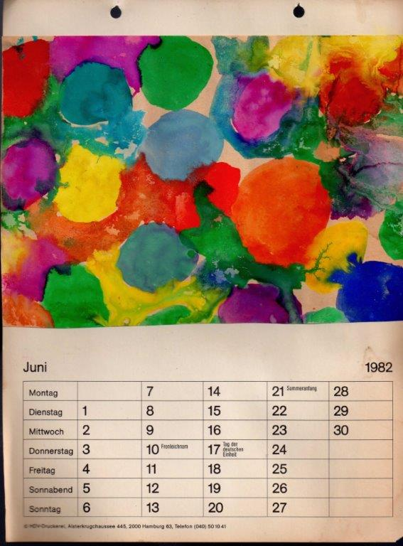 Calendar Ideas For Children To Make : Kids art calendar gifts that can make red ted