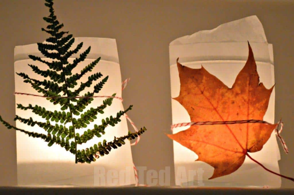 Thanksgiving Crafts for Kids: Simple Lanterns