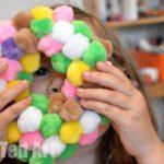 Pom Pom Wreath For Kids