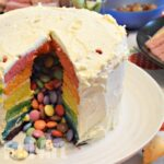 Surprise Pinata Rainbow Cake