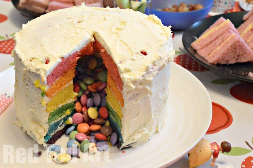 Rainbow Surprise Cake 2