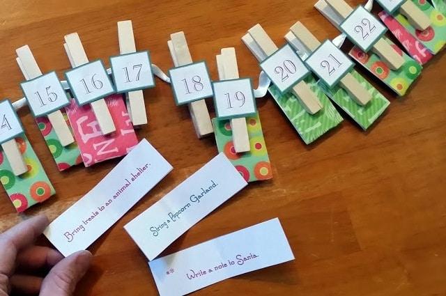 Advent Calendar Diy For Kids : Super simple advent calendar ideas