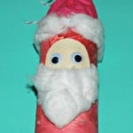 Toilet Roll Father Christmas