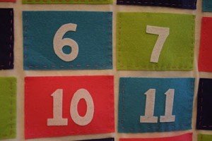 felt advent calendar idea