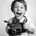 Introducing kids to photography