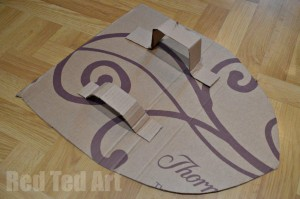 Cardboard Knights Shield