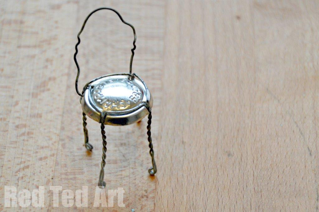 Champagne Wire Chair