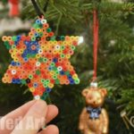 Easy Ornament for Kids - Hama Bead Star