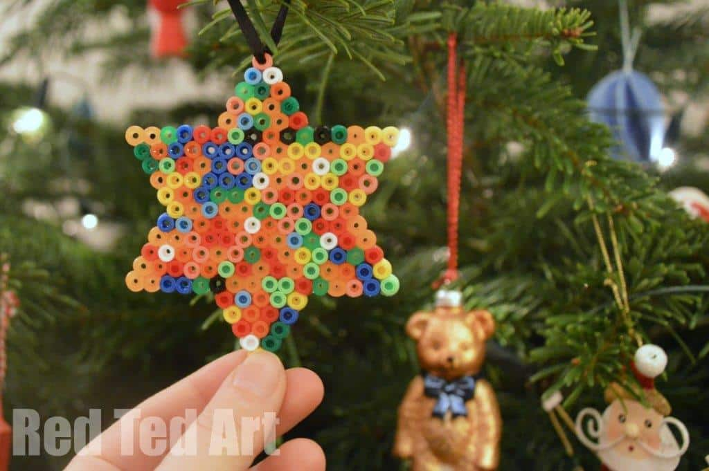 Easy Kids' Ornament – Hama Bead Star