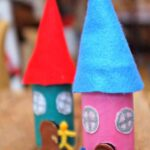 Toilet Roll Fairy House Craft