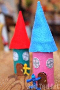 Fairy House Craft for Kids to make