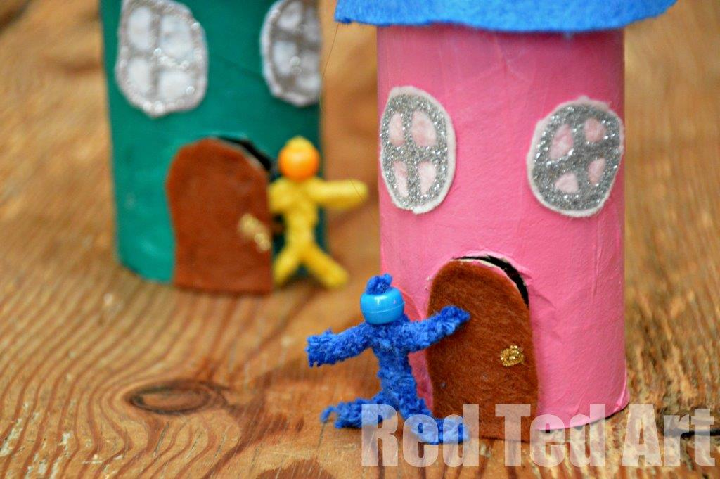 Fairy House Art And Craft For Kids
