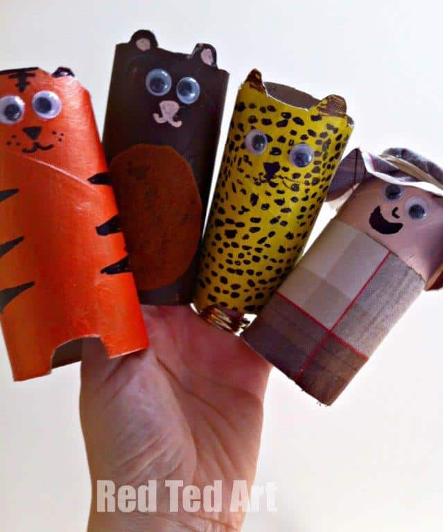 World Book Day: 6 Zoo Books & a TP Roll Craft