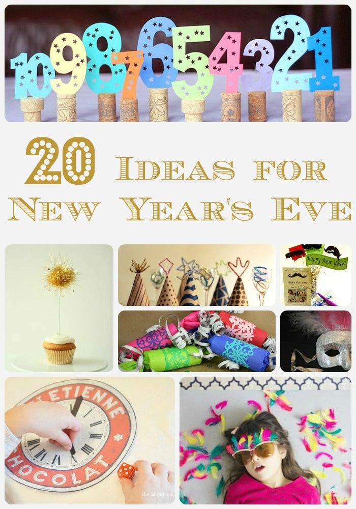 New Years Eve Ideas - fun quirky ideas for New Years Eve. Whether you are looking for simple decorations or fun ideas to keep the kids busy, take a look at this New Year's Eve inspriation. DIY New Year's Eve sorted!