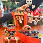 Pirate Crafts: Treasure Box & Pirate Boat