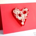 Valentine's Cards: Paper Quilling for Kids