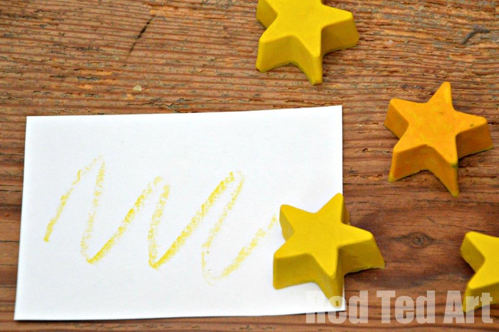 Recycled Crayons Stars Gift