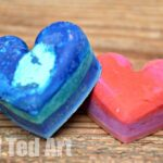 Recycled Crayons: Valentine's Gifts for Kids