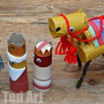 Toilet Roll Nativity – The Camel