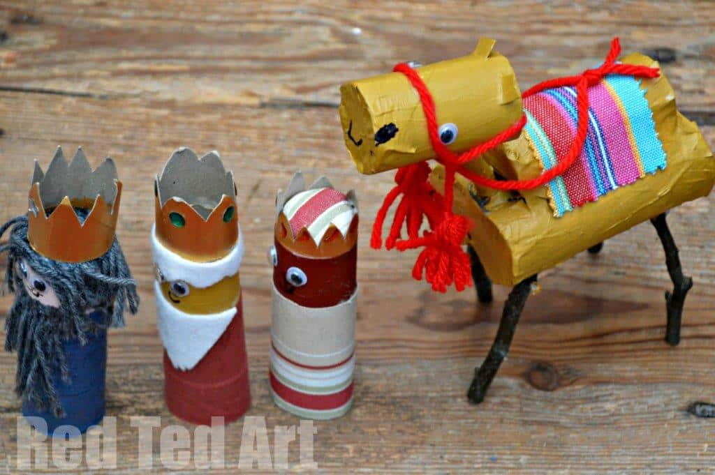 Toilet Paper Roll Camel Craft – Navity Scene