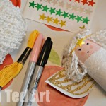 Toilet Roll Angel Craft