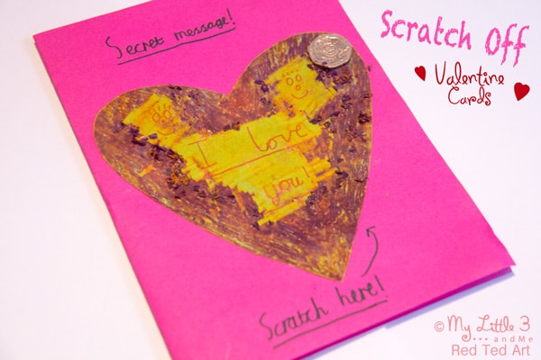 25+ Valentines Cards for Kids - Red Ted Art\'s Blog