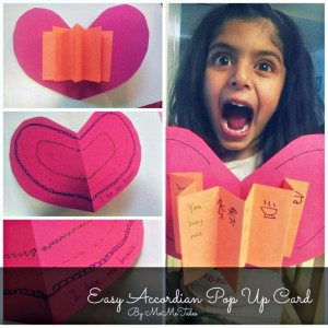 Valentines Cards for Kids Fun Pop Up Cards