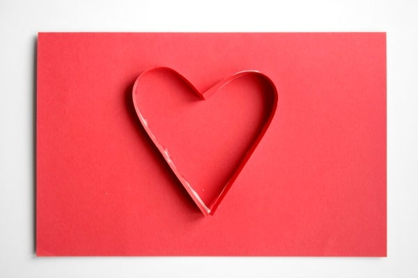 Valentines Cards for kids - quilling