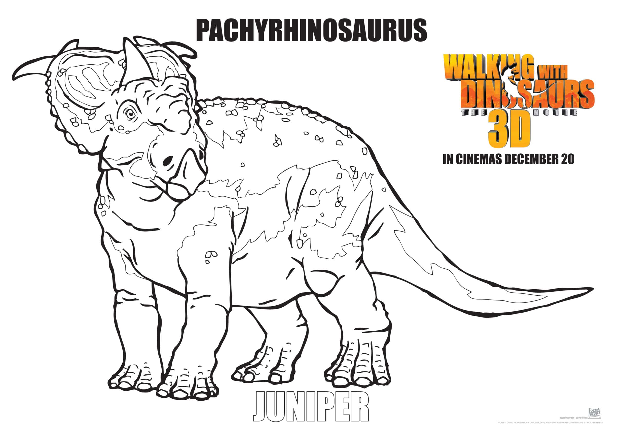 walking with dinosaurs coloring pages - photo #10