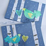 Winter Heart Bird Greeting Card from The Educators' Spin On It