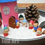 Winter Small World Play Snow White