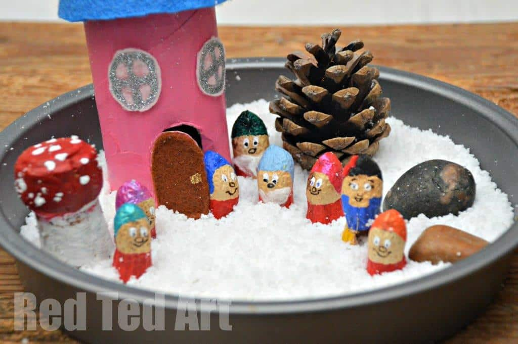 Winter Small World Play