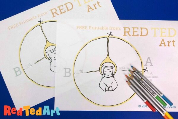 How to make a 3d Paper Angel