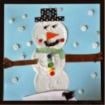 cupcake liner snowman thumbnail