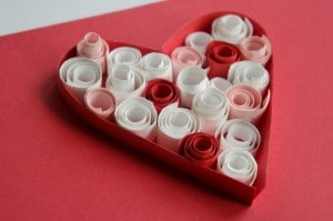 quilled heart how to