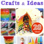 20 Rainbow Crafts to delight
