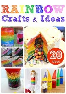 20 Rainbow Crafts to delight