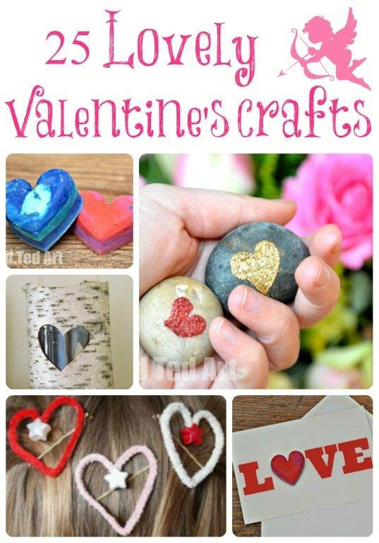 25 Valentine's Crafts Ideas