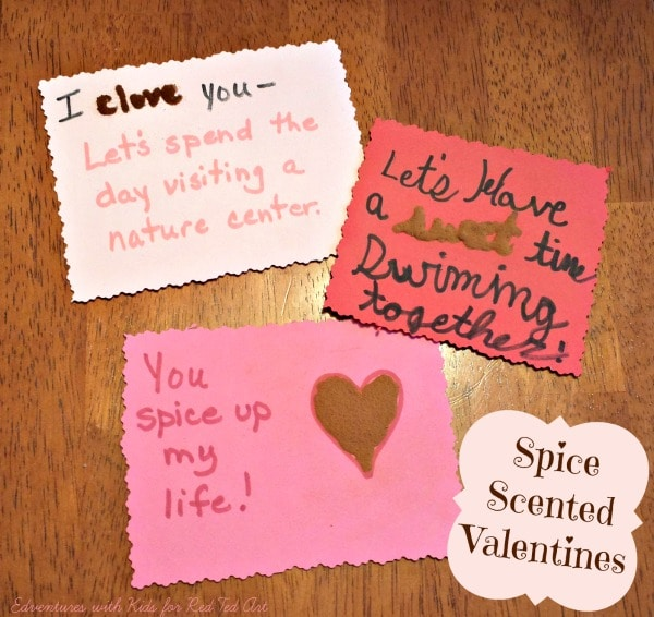 valentine's gifts: spice scented valentine coupons - red ted art's, Ideas
