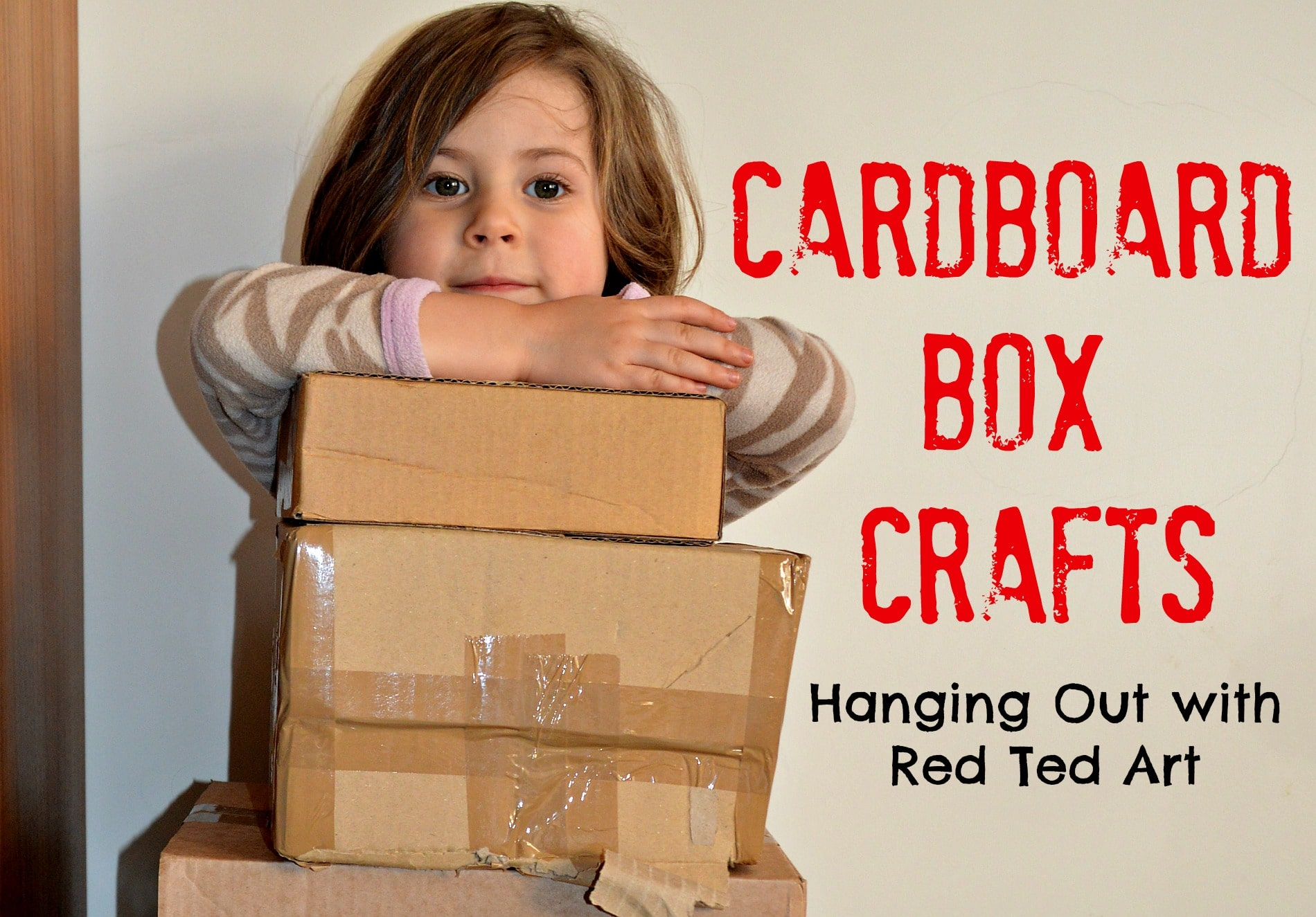 20 Cardboard Box Craft Ideas