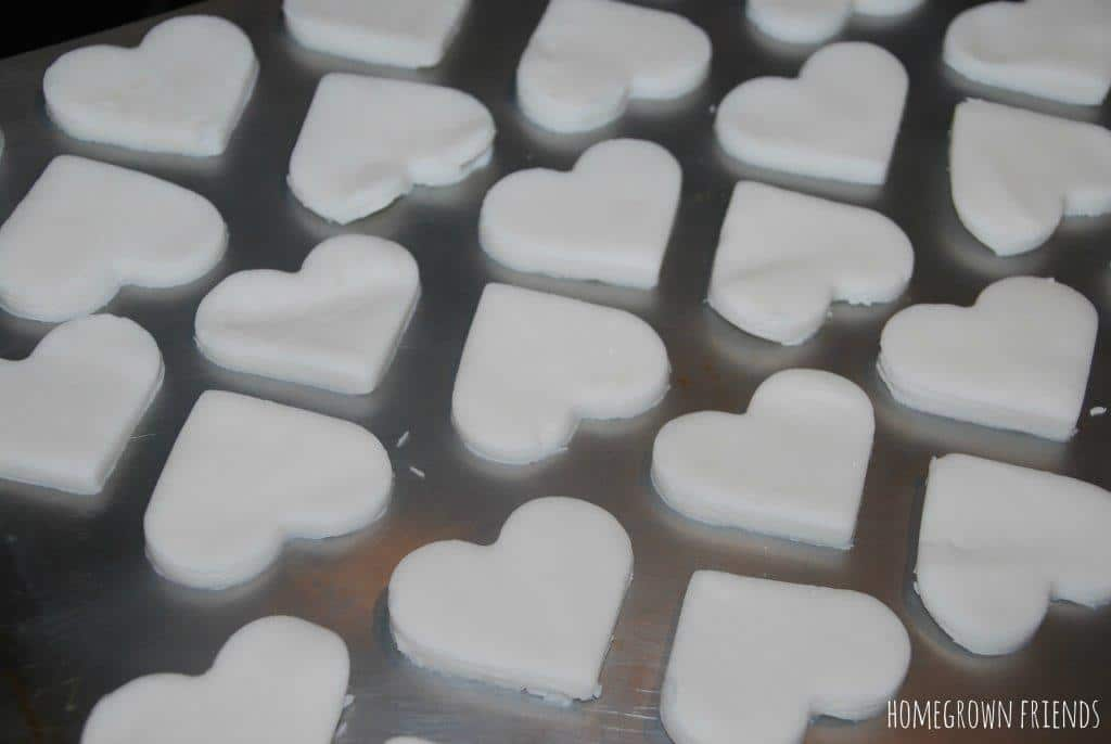 DIY White Clay Recipe Hearts