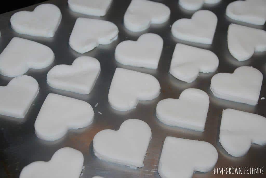 DIY White Clay Recipe Hearts